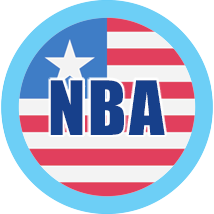 NBA logo alternative airlines
