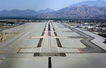 palm springs runway