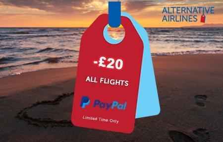 Alternative Airlines promo code