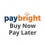 Paybright logo with text showing buy now pay later underneath
