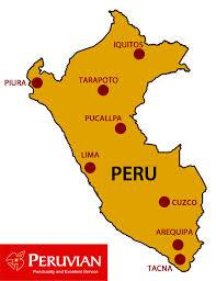 Peruvian Airlines Route Map