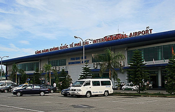 Exterior of Nội Bài International Airport