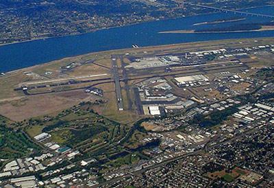 Portland International Airport Runway