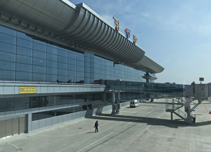 pyongyang airport exterior
