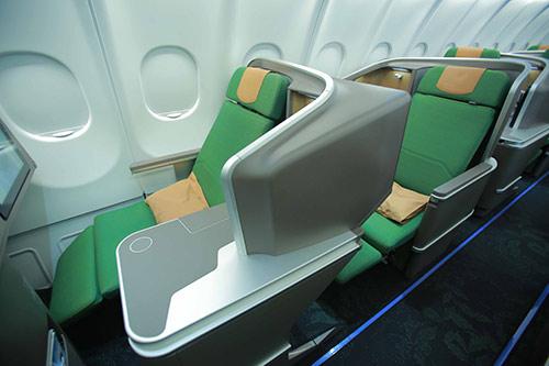 Rwandair Business Class seat