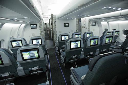 Rwandair Premium Economy seat