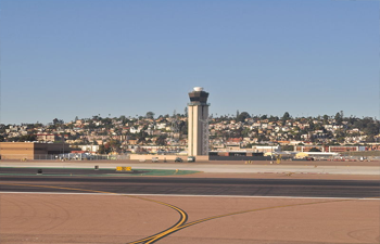 San Diego runway