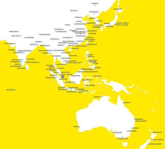 Mapa De Ruta de Scoot