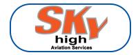 Sky High Aviation logo