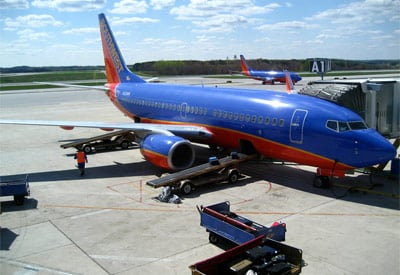 Southwest Plane at BWI airport