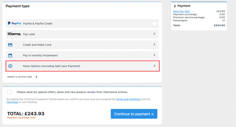 Split Your Payment Guide —Step 4
