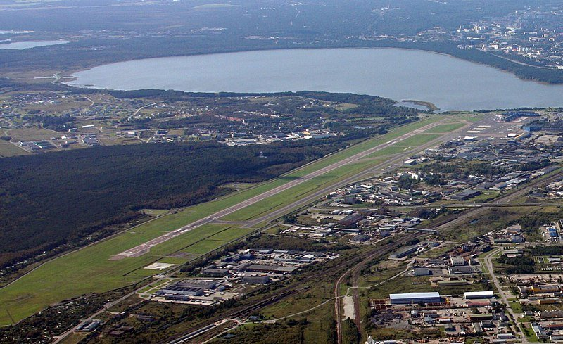 Tallin Airport Estonia