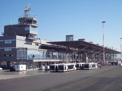 Exterior of Thessaloniki Airport