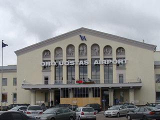 Vilnius Airport Exterior