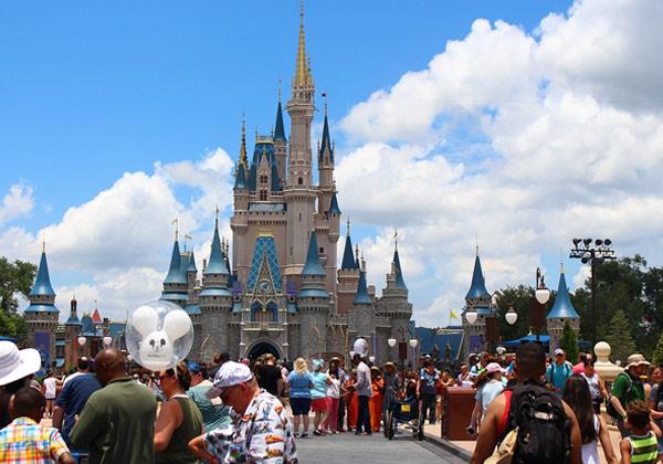 Walt Disney World Castle, Florida