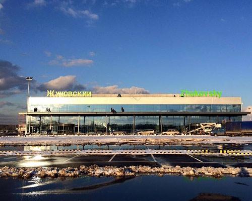 External view of Zhukovsky International Airport