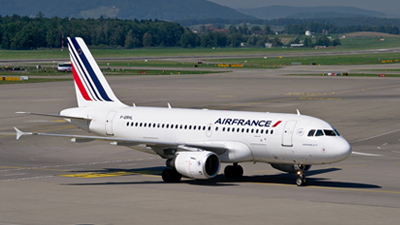 airbus a319 operated by air france