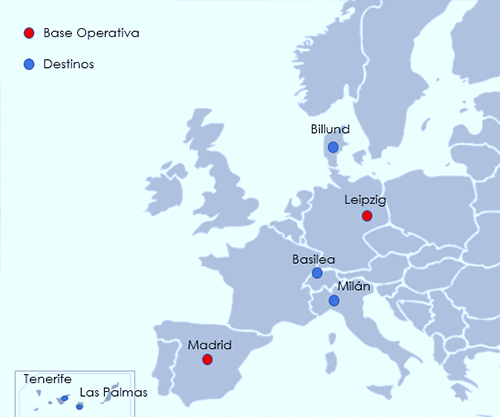 cygnus air route map
