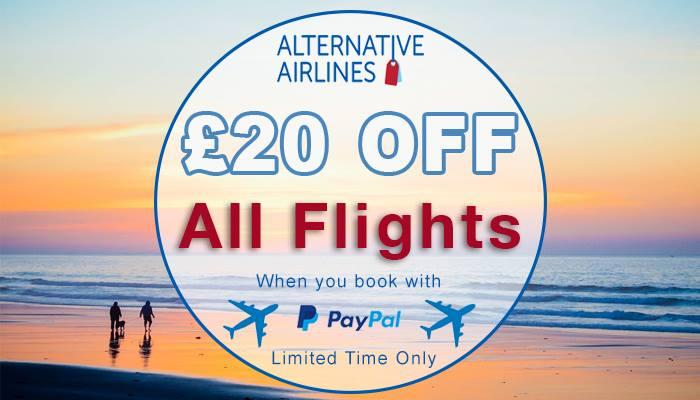 £20 Off All Flights