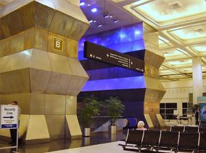 george bush airport interior