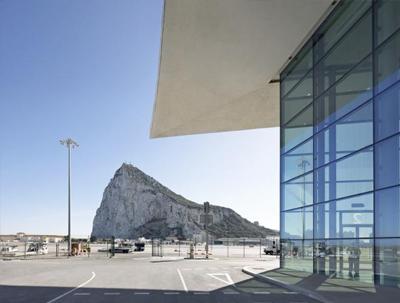 GIB airport exterior