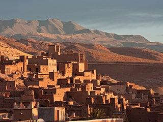 city in the desert in morocco