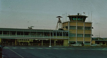 External view of Nassau Lyndon Pindling International Airport