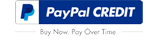 Logotipo de crédito de PayPal