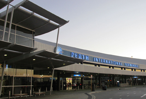 Perth Airport exterior shot