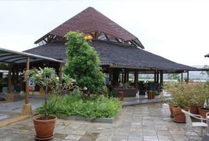 exterior shot of Samui Airport
