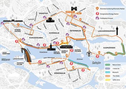 map of stockholm marathon route