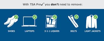 benefits of tsa precheck graphic